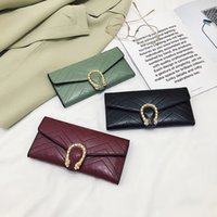 Wholesale hip hop fashion style for girls resale online - 2019 New Fashion Womens Long Wallet Purses Hasp Designer Ladies Credit Card Holder Clutch Bag Top Quality Money Cards Purse Wallets for Girl