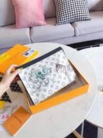 Wholesale pochette clutch resale online - MINI POCHETTE ACCESSOIRES Womens Designer Fashion Clutch Evening Bag Small Luxury Shoulder Handbag Phone purse Canvas