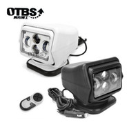 Wholesale wireless led remote controlled spotlight resale online - OTBS W DC V LED Searchlight Wireless Remote Control Spotlight Magnetic Base for Car Boat Vehicles Wrangler Beam