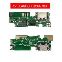 puerto usb pcb al por mayor-para LEAGOO KIICAA MIX Puerto de carga USB Cable flexible Base de carga USB Conector Base de conexión de cable PCB Placa Flex Piezas de reparación