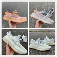ingrosso linea gialla-Clay Hyperspace True Form Running Shoes 2019 Spring Special Line Designer Kanye West Uomo Donna Sneakers sportive