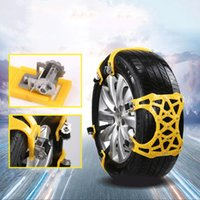 Wholesale wrench for cars for sale - Group buy Vehemo Car Snow Chains Antislip Snow Mud Adjustable Anti skid Car Tire Wheel Chains For Cars Suv Outdoor Car Styling with Wrench