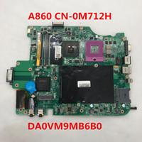 Wholesale intel laptop motherboards online - Shop Store for Vostro A860 Laptop Motherboard CN M712H M712H M712H DA0VM9MB6B0 DDR2 placa madre Full Tested