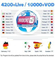 iptv tv großhandel-HKNOKETV PRO mit 1 Jahr IPTV Abonnement Code Programme für Android TV Box Niederländisch Belgien Französisch