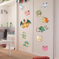 Wholesale games stickers resale online - Decorate Home game cartoon art wall sticker decoration Decals mural painting Removable Decor Wallpaper G