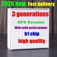 Wholesale ups iphone for sale – best earphones Tws Gen3 chip wireless charging H1 chip Bluetooth Headphones Earbuds Earphones pop up SiRi Touching control Button Rename GPS