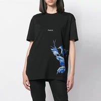 marcas de ropa para hombre de mayor calidad al por mayor-Ropa de marca paris camisetas de diseñador para hombre cuello redondo manga corta 001 camisetas para mujer camiseta femenina impresión algodón de alta calidad 2020 nuevo