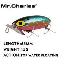 Wholesale top quality fishing lures resale online - Mr Charles CMCS124 Fishing Lure mm g Top Water Floating Hard Baits Quality Professional Lures Fishing Tackle