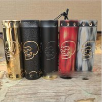Wholesale skull lever for sale - Group buy Authentic Combat Skull HK mod mechanical lever for electronic cigarettes