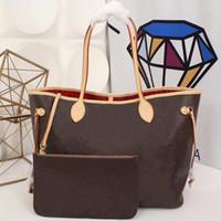 сумка-кошелек для сцепления оптовых-Дизайнерские сумки Оригинальные кожаные женские сумки L flower Luxury Дизайнерские композитные сумки Lady Clutch Сумка женская сумка с кошельком