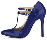 ingrosso tacchi beige t-Scarpe da donna sexy grin con tacco a spillo per donna con punta a punta e tacco a spillo con fibbia Zapatos Mujer 0640-i