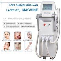 fréquence de la lumière achat en gros de-système d'épilation par radiofréquence nd yag laser machine laser enlèvement de tatouage machine shr ipl épilation e-light machine