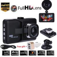 Wholesale dvr cycling resale online - 3 quot Vehicle P Car DVR Dashboard GB DVR Camera Video Recorder Memory Card Dash Cam G Sensor GPS