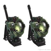 askeri telsiz toptan satış-2 Adet Aile Oyunları Çocuk Oyuncak Walkie Talkie Çocuklar Izle Tarzı Açık Interkom Hediyeler Oyuncaklar Kamuflaj Askeri Alan