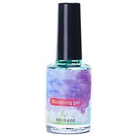 ingrosso coloranti pigmentanti-12 Pz Quick Dry Nail Stain Dye Pigmento Gel per unghie Vernici Acquarelli Fiori che sbocciano vernice Gradient Lacca Decorazione d'arte
