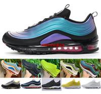 japão amarelo venda por atacado-Mens Running Shoes Womens LX Líquido Metálico Triplo Branco Balck Rosa Metálico Ouro South Beach SE Japão Amarelo Mulheres Tênis Esportivos