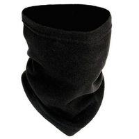 eşarp katmanları toptan satış-Moda Kış 2 1 Cap Eşarp Beraberlik Ile Polar Çift Katmanlı Kalınlaşmak Boyun Isıtıcı Çok Fonksiyonlu Kap Bisiklet Şapka