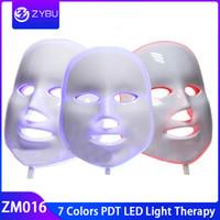 Wholesale good masks for face for sale - Group buy Good Quality Colors PDT LED Beauty Face Mask led light therapy mask for skin rejuvenation
