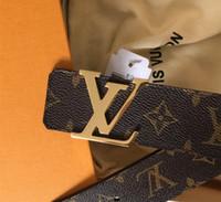 hebilla de metal cinturón de los hombres de la marca al por mayor-2018 Famosos cinturones de diseño de lujo para hombres Nuevos cinturones de cuero Aguja Hebilla de metal Cinturón Cinturones vintage Cinturones blancos