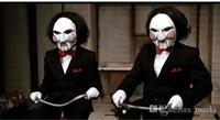 маски для лица с полным лицом оптовых-Marki маска партии ужасна маска Halloween на террористе увидела бензопилу убийцы Volto маски анфас для взрослых h25