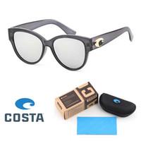 Wholesale sports sunglasses for sale - Group buy Costa Fashion Cat Eye Sunglasses Women Brand Designer Vintage Retro polarized Sun glasses Female Fashion Sunglass Shades with Retail box