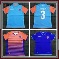 thai qualitätsfußball jerseys usa großhandel-S-2XL Thai Qualität 2019 Miami FC USA Amerika Fußball Trikots 19 20 Miami Heimtrikot SUAREZ Drittes Auswärtstrikot Blauer Fußball