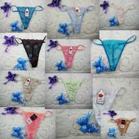 buz teli toptan satış-Yeni Kadın Dantel Şeffaf Külot Lady Moda Tangas G-Dizeleri Thongs İç T-pantolon İç Külot RRA1380 300 adet