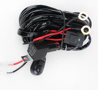 Wholesale atv led light kits for sale - Group buy Wire Relay Harness Kit M for Lead LED Light Bar LED Work Light for Off Road SUV ATV Pickup Truck Car Max Load W