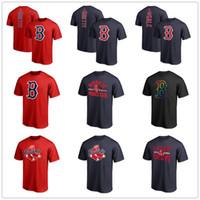 parte superior arqueada venda por atacado-# 50 Mookie Betts Red Sox Camisolas De Beisebol Boston mens designer camisetas # 41 Chris Sale Vitória Arco Camisas Fãs Tops Tee impresso logotipos da marca