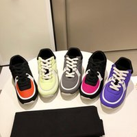 Wholesale lime fashion resale online - 2019 Summer New Color Shoes Fashion mix color Genuine Leather Men Women Leather Flats Runner Trainers sport Casual Shoes BOX
