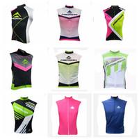 tops de merida al por mayor-MERIDA team fashion men summer Respirable Ciclismo sin mangas jersey Chaleco Cómodo Transpirable para hombre Tops top brand Y61817