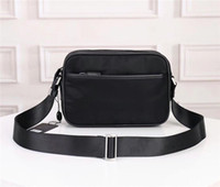 Wholesale camera canvas for sale - Group buy new waterproof canvas with leather crossbody bag fashion wild lightweight shoulder bag female classic large capacity camera bag