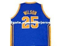 ben jerseys achat en gros de-Hommes BEN WILSON SIMEON HAUTE ÉCOLE DE QUALITÉ JERSEY NOUVELLE TAILLE XS - 5XL Retro Basketball Jerseys