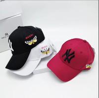 gorras juveniles al por mayor-Hombres y mujeres verano moda de la calle moda gorra de béisbol juvenil versátil primavera y otoño sombra