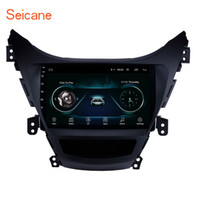 hyundai pouces écran achat en gros de-OEM Android 8.1 stéréo de voiture à écran tactile de 9 pouces pour 2011 2012 2013 Hyundai Elantra avec Bluetooth GPS Navi soutien tuner TV télécommande