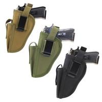 Wholesale holsters left hand for sale - Group buy Gun Holster Waist Belt Gun Holder Pistol Pouch Fit Right Left Hand New Holsters