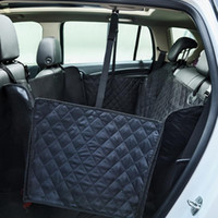 Pet carriers Oxford Fabric Nonslip Car Pet Seat Cover Dog Car Back Seat Carrier Waterproof Mat Hammock Cushion Protector