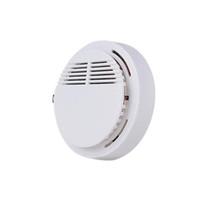 baterías de alarma de casa al por mayor-Detector de humo Alarma de incendio Sistema de sensor de alarma independiente detectores inalámbricos de origen seguridad de alta sensibilidad estable LED 85DB batería de 9V DHL