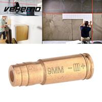 ingrosso vista rossa pistola laser-Vehemo 9mm Red Brass Copper Laser Bore Sighter Sight Calibre Cartuccia per pistola