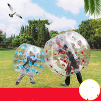 Wholesale bumper football inflatable for sale - Group buy Sports Meeting Inflatable Collision Ball Thicken Bumper Balls Adult Outdoor Colorful Bubble Football Withstand Voltage Anti Wear jg C1
