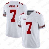 pence jersey al por mayor-Camiseta NCAA 7 Dwayne Haskins Jr 97 Nick Bosa 13 Tua Tagovailoa Trevor Lawrence American hot men College College43534