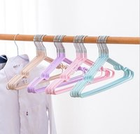 Wholesale closet hooks for sale - Group buy Hot Home Housekeeping Stainless Steel Clothes Hanger Non Slip Space Saving Clothes Hangers With Hook Closet Organizer Drying Racks