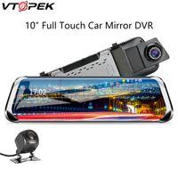 câmera de mídia venda por atacado-Vtopek Câmera Do Carro Do Carro DVR 10