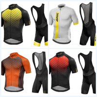 Wholesale mixing color men suit resale online - Bicycle Suit Sports Jersey Outdoors Rompers Short Sleeves Ventilation High Elasticity Quick Drying Summer Colors Mix Fashion mkf1