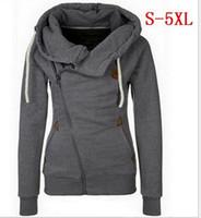 schnelle pulloverjacke großhandel-Frauen Strickjacke Sweatshirt Mit Kapuze Jacke Pullover 8 Farben Größe S-5XL Schneller Versand