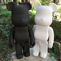 Wholesale toy semi for sale - Group buy 28 CM Inch Bearbrick DIY Color Black PVC Vinyl Action Figure Children Model Toys Gift