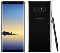 samsung note 4g al por mayor-Teléfono original Samsung Galaxy Note 8 N950F 4G LTE 6GB 64GB Dual trasero 12.0MP 6.3 pulgadas Snapdragon 835 teléfono restaurado con huellas dactilares