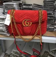 Wholesale velvet for sale for sale - Group buy Hot Sale Fashion Vintage velvet Handbags Women bags Design Handbags Wallets for Women Leather Chain Bag Crossbody and Shoulder Bags