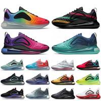 nouvelles chaussures femme chine achat en gros de-Nike air max 720 Nouveautés Chine Exploration de l'espace Chaussures Hommes Designer Loup Gris Anthracite Noir Université Neon Rouge Bleu Fury Femmes en cours Sneakes
