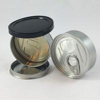 botella de aceite de unicornio al por mayor-Inteligente Bud almacenamiento Cans envase de plástico hierba seca de lengüeta de arrastre anillo extremo de fácil apertura vacío de los pescados estaño lata de atún